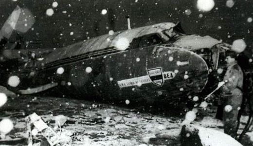 Olupina aviona u kojem su se nalazili fudbaleri Mančester Junajteda