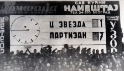 Partizan - Crvena zvezda 7:1