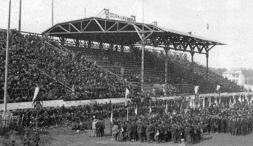 Stadion Jugoslavija na kojoj je odigrana prva noćna utakmica