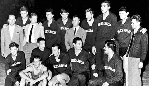 Košarkaši Jugoslavije na EP 1961. godine