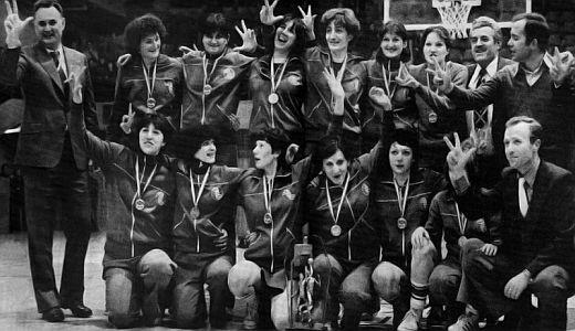 Košarkašice Zvezde, prvakinje Evrope 1979. godine