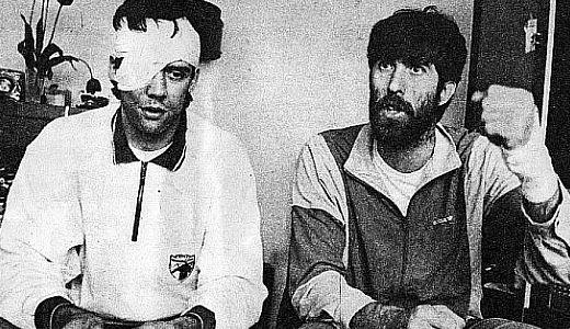 Mile Isaković i Veselin Vujović