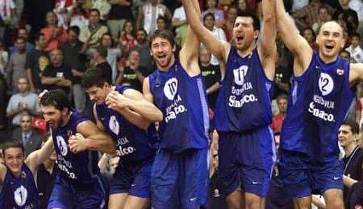 Košarkaši Jugoslavije, šampioni Evrope 2001. godine