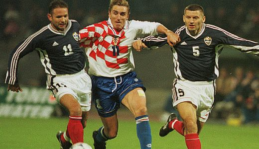 Siniša Mihajlović, Alen Bokšić i Miroslav Đukić