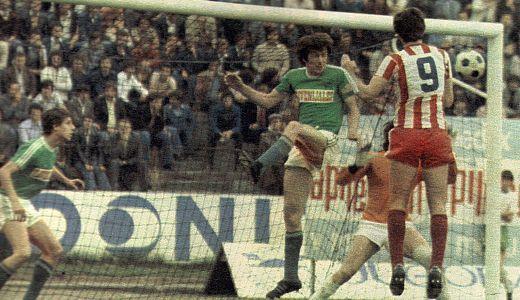 Utakmica Olimpija Ljubljana - Crvena zvezda 4:4, odigrana 1977. godine