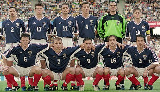 Fudbalska reprezentacija SR Jugoslavije na Svetskom prvenstvu 1998. godine