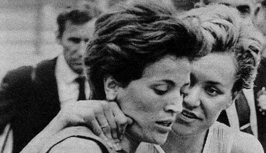 Vera Nikolić posle trke u kojoj je oborila svetski rekord