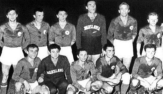 Fudbalska selekcija Jugoslavije, olimpijski pobednik u Rimu