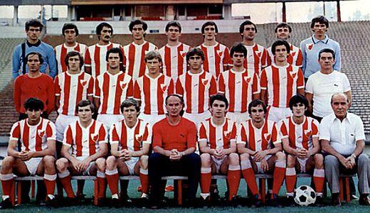 Ekipa Crvene zvezde za sezonu 1980-81