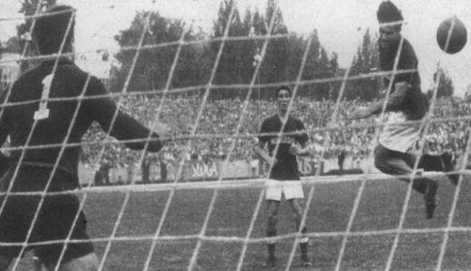 Utakmica Jugoslavija - Mađarska 4:4, igrana 10. oktobra 1958. godine
