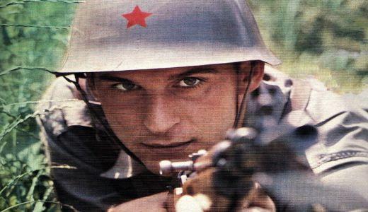 Dragan Džajić kao vojnik