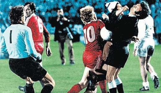 Incident posle utakmice Real - Bajern 1976. godine