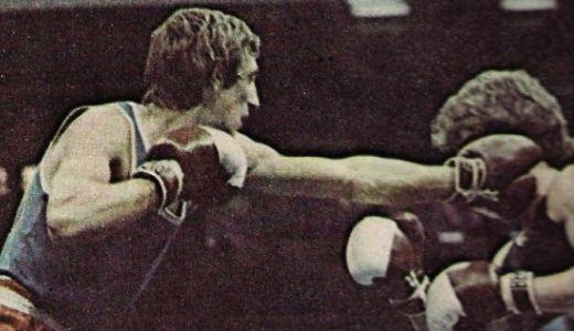 Zoran Jovanovič, levo, osvajač srebrne medalje na bokserskom EP 1973. godine