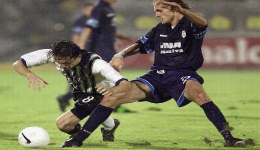 Detalj sa utakmice Partizan - Rijeka 3:1 iz 1999. godine