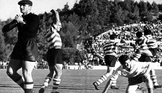 Detalj sa utakmice Sporting - Partizan 3:3
