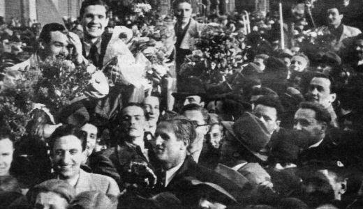 Doček fudbalera Građanskog na Glavnom kolodvoru u Zagrebu