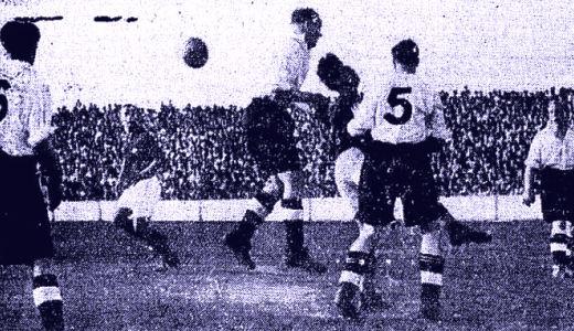 Detalj sa meča Jugoslavija - Engleska 2:1