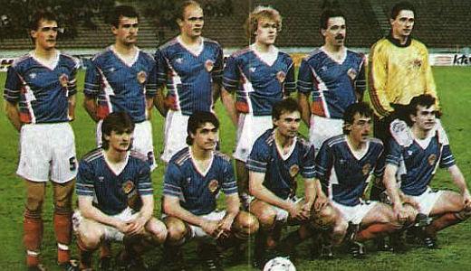 Fudbalska reprezentacija Jugoslavije pred susret sa Austrijom