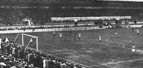 Stadion Buenavista u Ovijedu tokom utakmice Španija - Jugoslavija