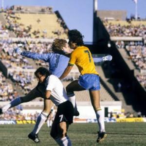 Sa utakmice Brazil - SR Nemačka 4:1