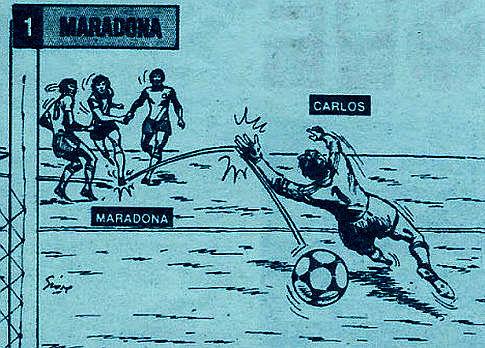 Gol Maradone protiv Brazila
