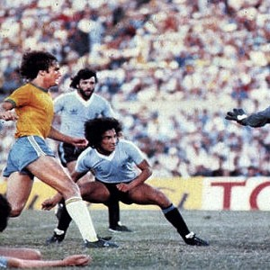 Sa finalne utakmice Urugvaj - Brazil 2:1