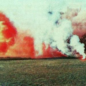Bakljada Torcide na utakmici Hajduk - SSSR