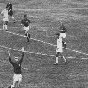 Radost igrača Norveške zbog gola protiv Jugoslavije