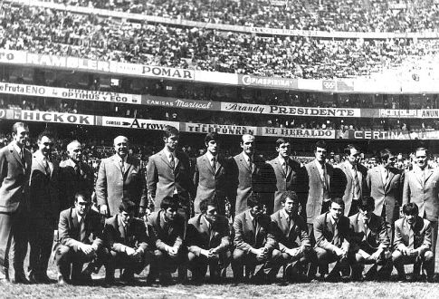 "Ekspedicija Partizana na stadionu ""Acteka"""