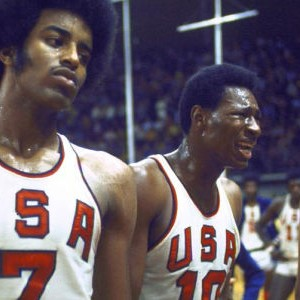 Američki košarkaši u neverici (FOTO: Getty Images)