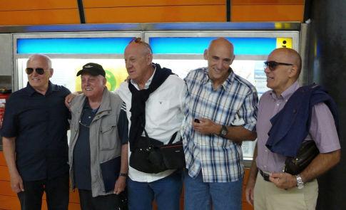40 godina kasnije: Zoran Živković, Vlado Štencl, Abas Arslanagić, Hrvoje Horvat i Nebojša Popović u Minhenu 2012. godine
