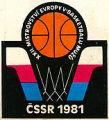Logo košarkaškog prvenstva Evrope 1981. godine