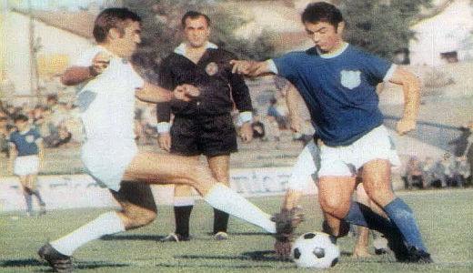 Dragoslav Šekularac u dresu OFK Beograda