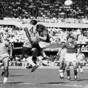 Detalj sa utakmice Jugoslavija - Brazil 1:1