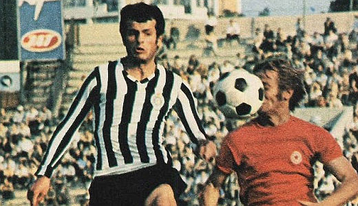 Detalj sa meča Partizan - Radnički (Kragujevac)