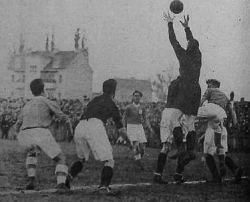 Detalj sa utakmice Građanski - Liverpul