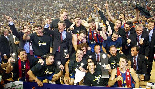 Košarkaši Barselone, šampioni Evrope 2003. godine