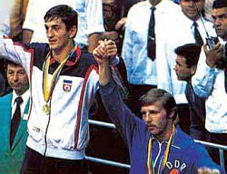 Slobodan Kačar (levo, zlato) i Herbert Bauh (Istočna Nemačka, bronza)