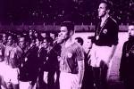 Ceremonija dodele medalja na fudbalskom turniru