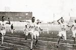 Britanski sprinter Harold Abrahams trijumfuje u trci na 100 metara na Olimpijskim igrama u Parizu 1924. godine