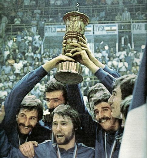 Odbranili evropski tron: košarkaši Jugoslavije