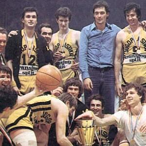 """Splitski """"žuti"""", šampioni Jugoslavije"""