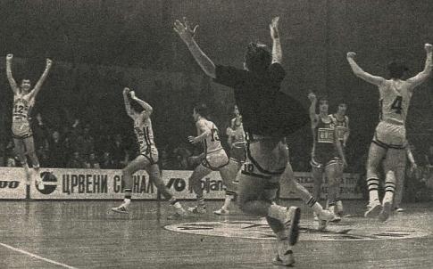Radost košarkaša Jugoplastike (FOTO: D. Marković)