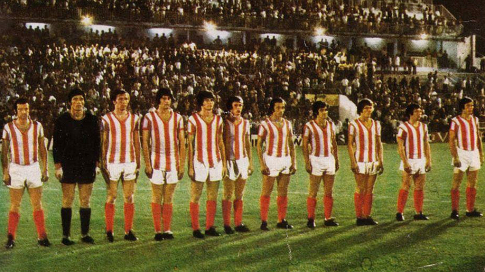 Ekipa Crvene zvezde uoči finalne utakmice sa Malagom