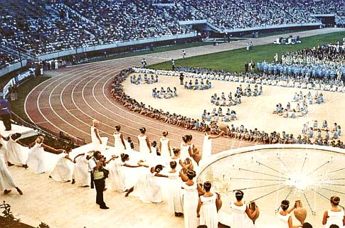 Sa ceremonije svečanog otvaranja Mediteranskih igara u Splitu