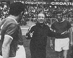 Trener Dinama Zlatko-Čik Čajkovski pokušao je savetima, ali Hajduk je bio bolji
