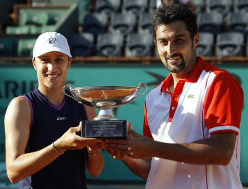 Srebotnik i Zimonjić osvojili su Rolan Garos 2010. godine (FOTO: PATRICK KOVARIK/AFP)