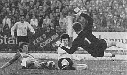 Detalj sa utakmice Velež - Partizan 1:0