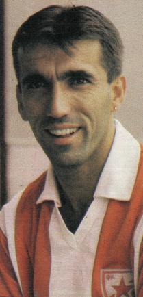 Zoran Vujović u dresu Crvene zvezde