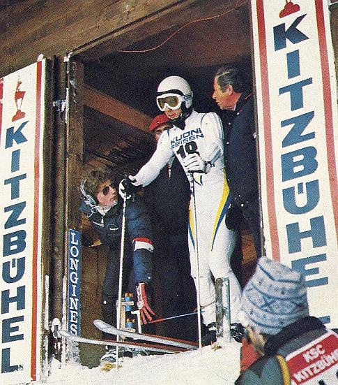 """""""Veliki Inge"""" na startu trke spusta u Kicbilu 1981. godine"""